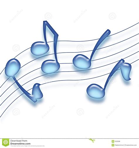 notes from across the blue blue notes royalty free stock photos image 320598