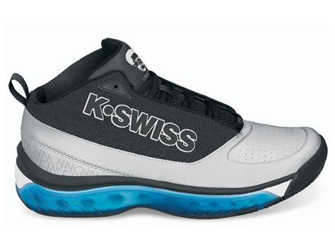 k swiss mens monfils mid tennis shoes black blue