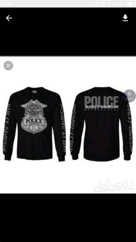 Kaos Baju T Shirt Harley Davidson1 jual kaos lengan panjang longsleeve harley davidson