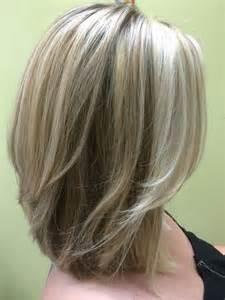 photos of medium length bob hair cuts for 30 three shades of blonde shoulder length layered bob hair