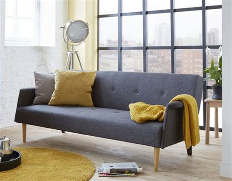 retro style sofa bed high street retro rhys midcentury style sofa bed at dfs