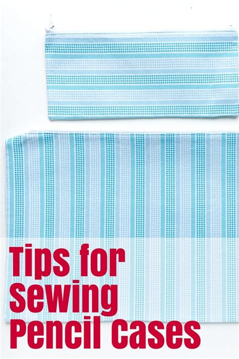 cara membuat zipper pencil case tips for sewing pencil cases the crafty mummy