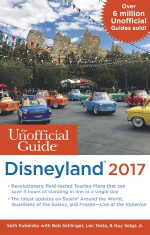 Disneyland Giveaway 2017 - the unofficial guide to disneyland 2017 book review giveaway tips from the disney