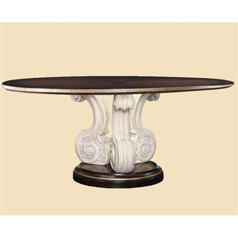 Marge Carson Dining Table Marge Carson Ion08w 1 Ionia Dining Table Discount