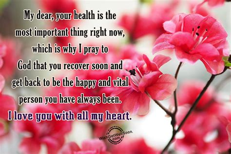 Get Well Soon Gf Quotes by Get Well Soon Wishes For Pictures Images