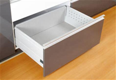 Aluminum Kitchen Cabinet tandem box drawer modern kitchen modular kitchen