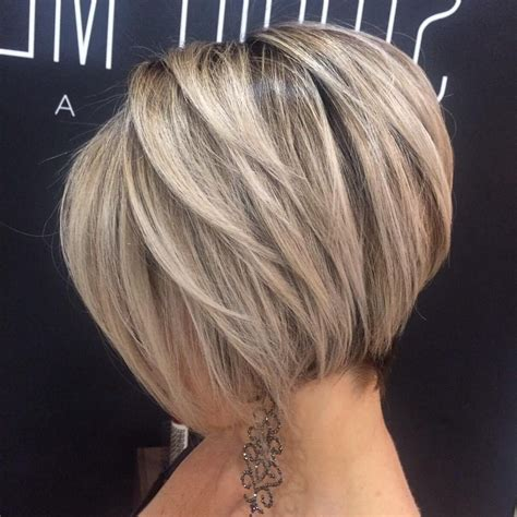 popular ash blonde bob hairstyles  feathered layers