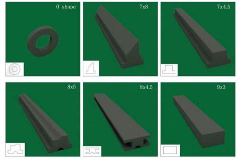 Shower Door Replacement Magnetic Strips Magnetic Seal Magnetic Door Seal Plastic Seal And Gasket