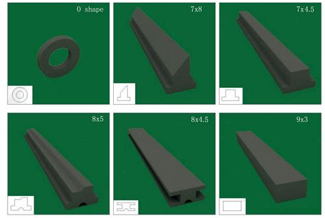 Magnetic Seal Strip Magnetic Door Seal Plastic Seal And Gasket Shower Door Magnetic Replacement