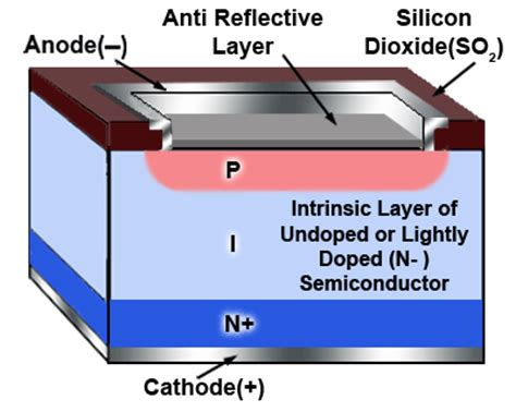 pin diode vs avalanche photodiode photodiodes