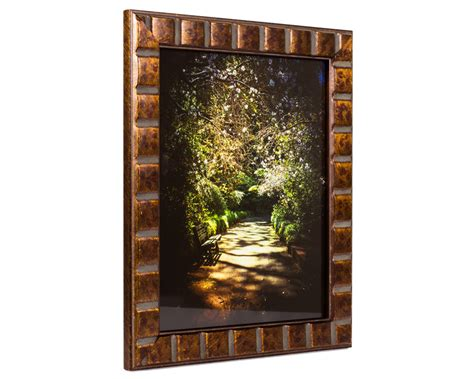 Wood Frame Poster 177 craig frames 22x28 inch aged bronze picture frame mosaic