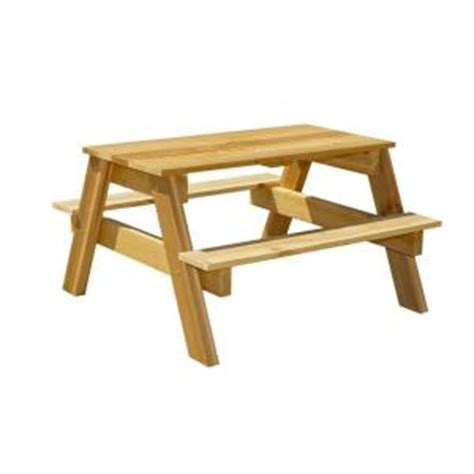 houseworks 3 ft junior cedar picnic table 94756 the