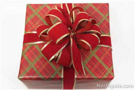 how to wrap a ribbon around a gift how to wrap gifts with wired ribbon