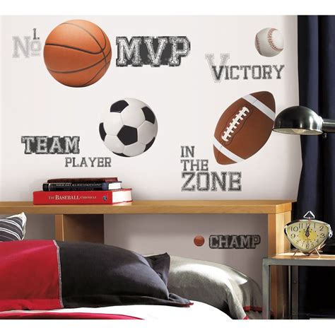 sports wall stickers all sports sayings wall decals