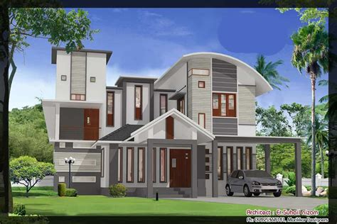 home design plan and elevation house elevation plans 2 5 keralahouseplanner