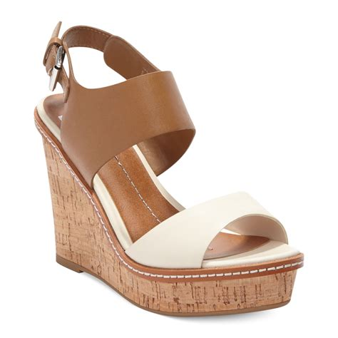 bone wedge sandals dolce vita dv by jonee platform wedge sandals in brown