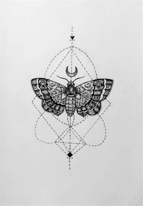 tattoo fixers geometric moth items similar to geometric moth on etsy