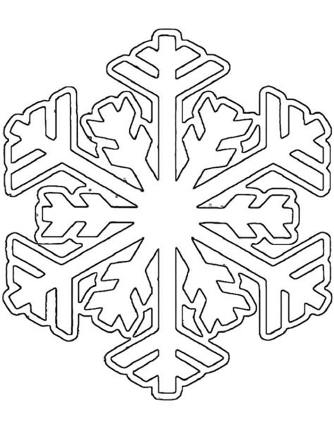 christmas snowflake coloring page get this christmas snowflake coloring pages 37502