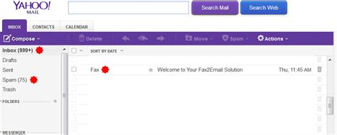 yahoo email not receiving yahoo free yahoo fax to email