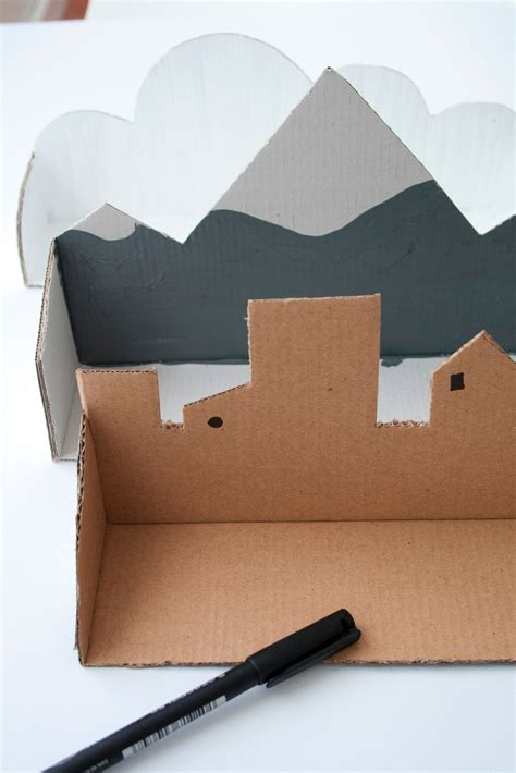 Cardboard Papercraft - cardboard shelf 183 how to make a wall shelf 183 papercraft on