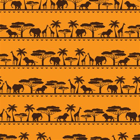 african pattern vector african style seamless vector pattern 03 vector pattern