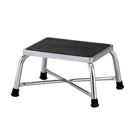exercise equipment step stool bariatric chrome step stool w65069 clinton t 6142