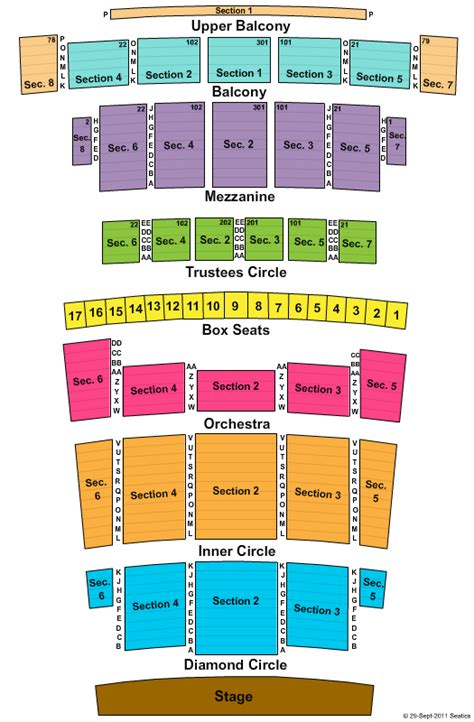 Detroit Opera House Floor Plan | detroit opera house floor plan floor matttroy