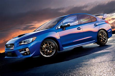subaru sti jdm 2015 2015 subaru wrx s4 and wrx sti get improved in japan