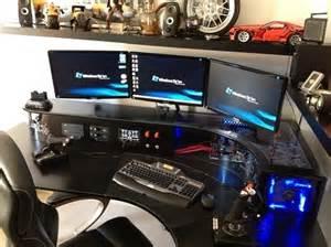 Computer Gaming Desk Ikea Bureau Pour Gamer Diy Gamerstuff Fr