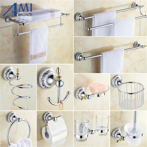 porcelain bathroom accessories sets 81cp series chrome polished porcelain bathroom accessories