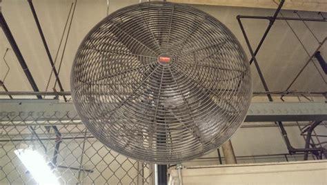 wall mount shop fan lot 71 dayton wall mounted shop fan wirebids