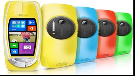 Nokia 3310 Windows new nokia 3310 pureview with 41mp windows 8 1