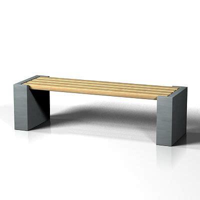 bench 3d model 3d model modern bench