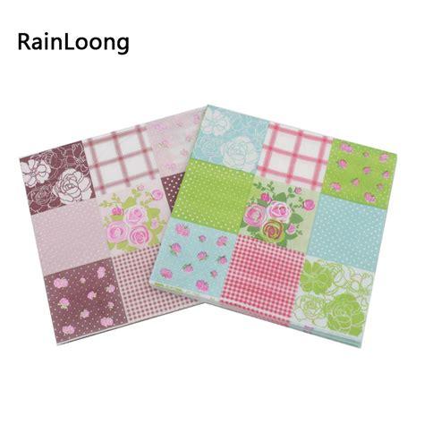 Paper Napkintissu Decoupagenapkin Decoupage aliexpress buy rainloong floral paper napkin event supplies decoration