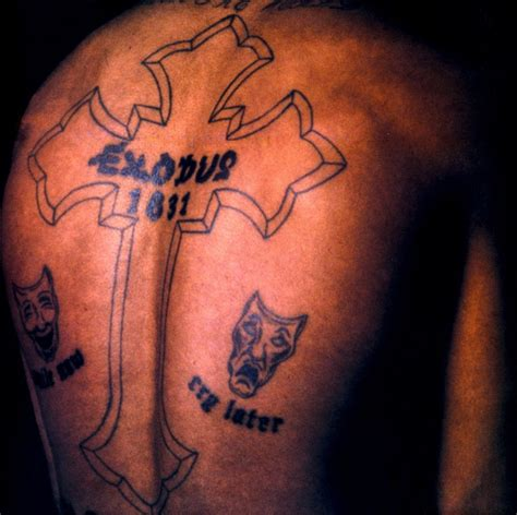 exodus tattoo the two possible meanings of tupac s exodus 18 31