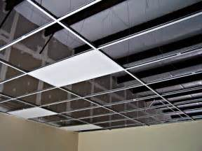 Drop Ceiling Grid by How You Can Install A Suspended Ceiling Homes
