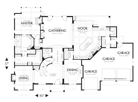 house plan 2428c the winthrop floor plan details mascord house plan 2428 the marigold