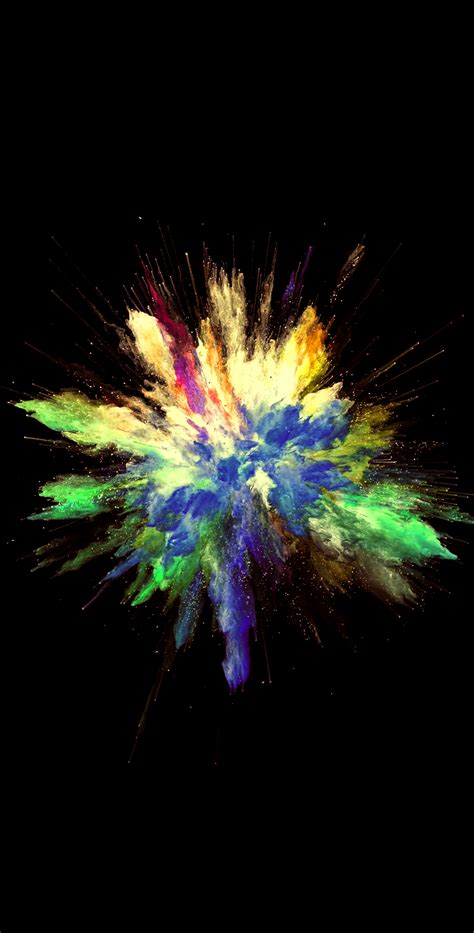 colorful explosion  video  wallpaper