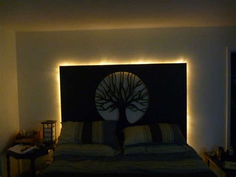 backlit headboard custom backlit headboard imgur i will live home