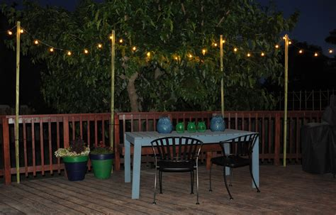 Backyard Patio Lights Outdoor Lighting Hanging Interior Design Styles