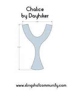 slingshot template chalice slingshot template diy http www