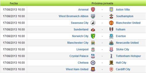 Calendario J League 2 Calendario Premier League 2013 2014