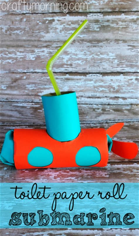 Toilet Paper Roll Submarine Craft for Kids - Crafty Morning Empty Toilet Paper Roll Png