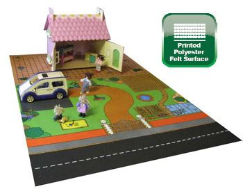 dolls house playmat e4e school nursery games carpets play mats