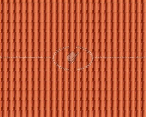 Terracotta Tile Roof Terracotta Roof Tile Texture Seamless 03486
