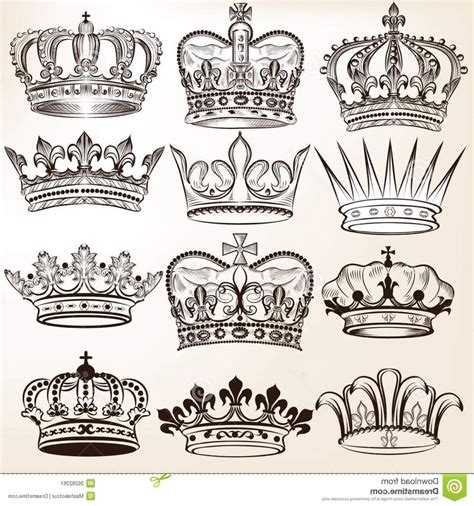 king crown tattoo designs crown drawing at getdrawings free for