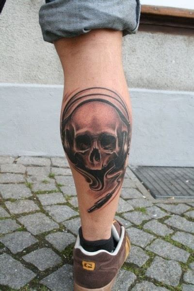 mens calf tattoos leg tattoos for ideas and designs for guys