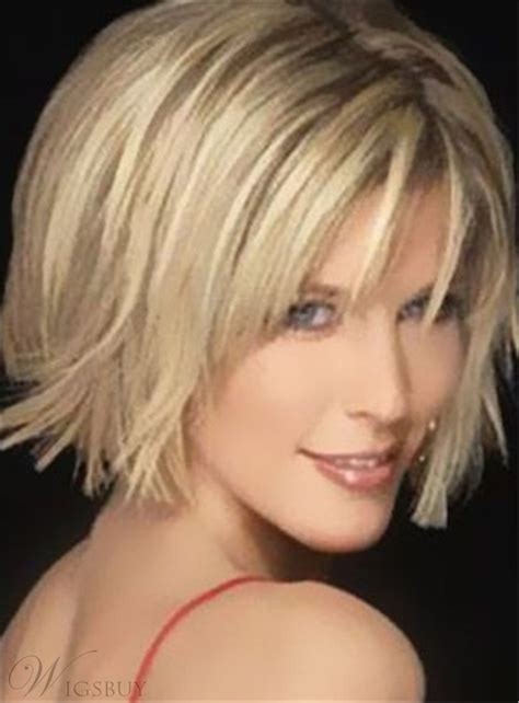 hot sale short straight bob hairstyle capless synthetic