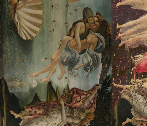 botticelli venus botticelli birth of venus and primavera large