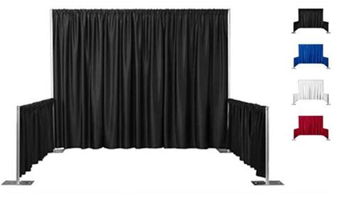 pipe and drape system for sale pipe drape trade show booth system for sale linkedin